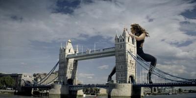 Mel B Helps Online Bingo to Tower Over London