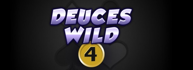 Deuces Wild 4 Lines Video Poker