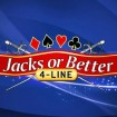 Jack's or Better 4-Line Video Poker