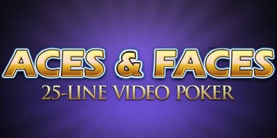 Aces & Faces 25-line Video Poker