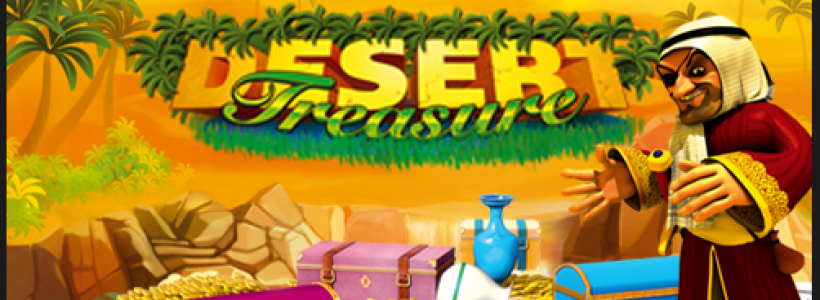 Venture into The Sun And See What You Find With Desert Treasure Slot