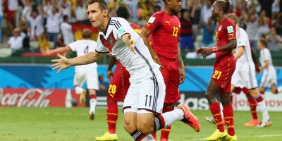 Argentina Through While Ghana Hold Germany