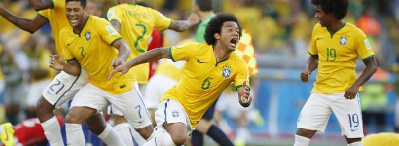 Brazil Goes Through on Penalties