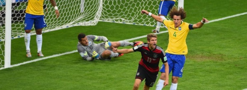 Germany Conquers Brazil