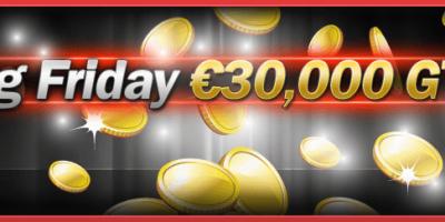 €30,000 Guaranteed on Friday Nights at Winner Poker