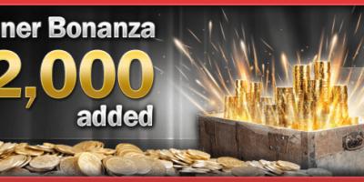 Bonanza €2,000 Added Tournaments at Winner Poker
