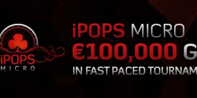 iPOPS Micro Series offers €100,000 Guaranteed at Winner Poker