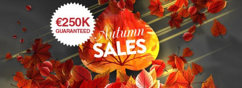 Autumn Sales 2014 Offers €250,000 Guaranteed at Winner Poker