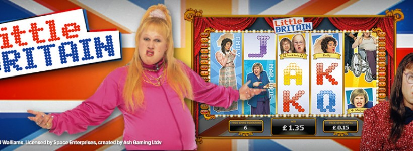 Become a Patriot Playing Little Britain Slot