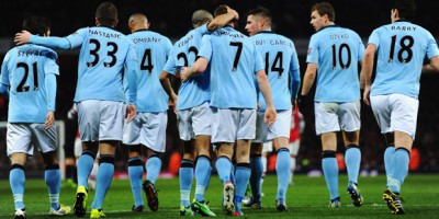 Manchester City 3/5 Favourites to Beat Arsenal
