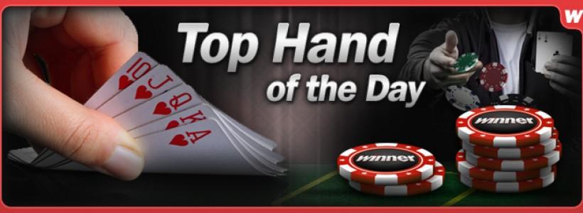 Top Poker Hands Rewarded at Winner Poker
