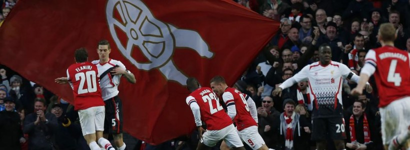 Arsenal 11/10 Favourite to Beat Manchester United on Saturday