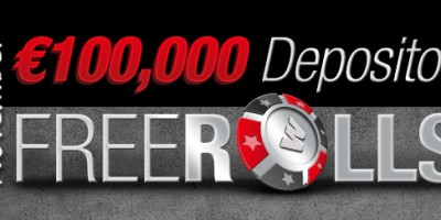 €100,000 Depositor Freerolls at Winner Poker