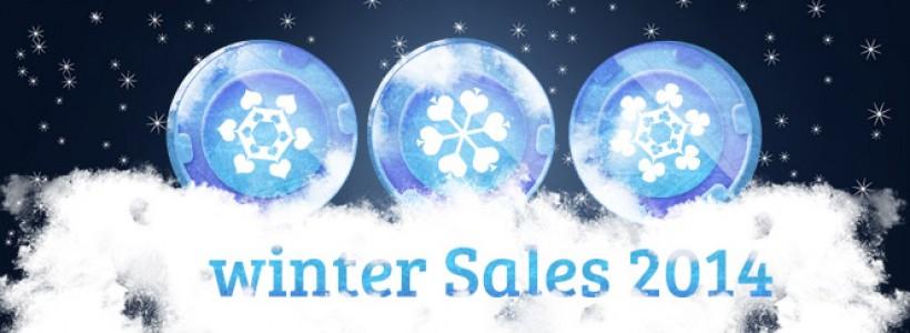 Winter Sales 2014 Arrives at Winner Poker