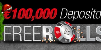 €100K Guaranteed in December Depositor Freerolls