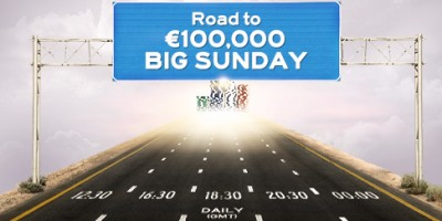Win a Free Entry to the €100K Gtd Big Sundyay at Winner Poker