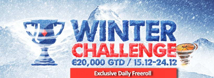 Complete Winner Poker's Challenges For A Share of €20K