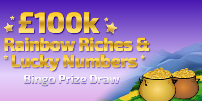 Win up to £10,000 in the Winner Bingo Prize Draw
