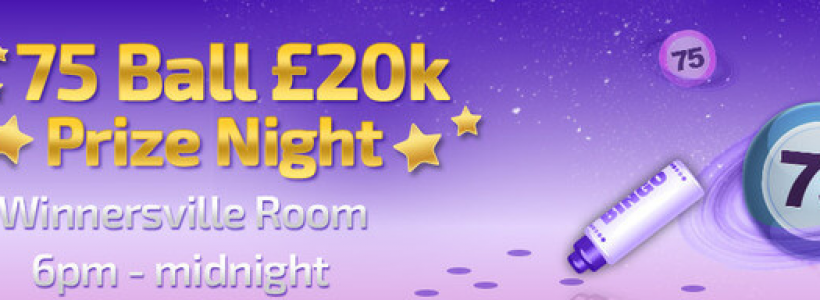 Win a Share of £20K This Friday at Winner Bingo