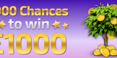A Thousand Chances to Win £1000 During April at Winner Bingo