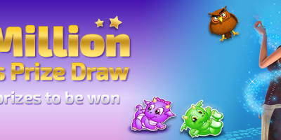 £1 Million Slots Prize Draw at Winner Bingo This Month