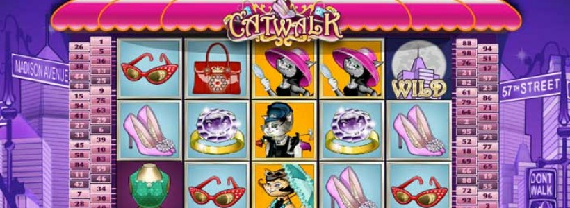 Accessories Your Self with Catwalk Slot at Winner Slots