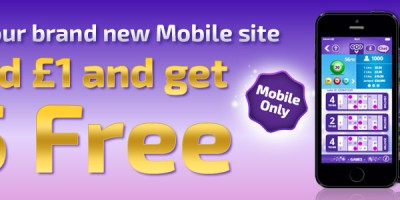 Receive a Bonus at the New Winner Bingo Mobile Site