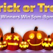 Prepare For Halloween with Trick or Treat Bingo at Winner