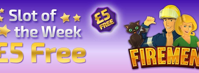 Call the Firemen for a £5 Bonus at Winner Bingo