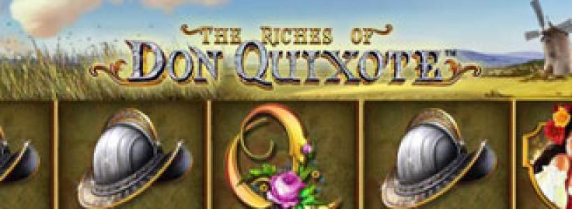 Go adventuring in Don Quixote Slots at Winner Casino