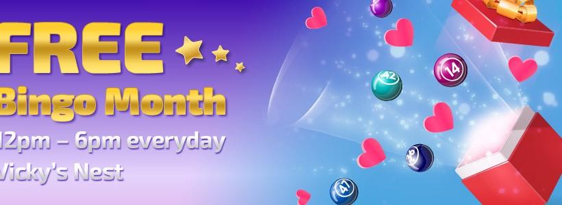 Enjoy Daily Free Bingo During November at Winner Bingo