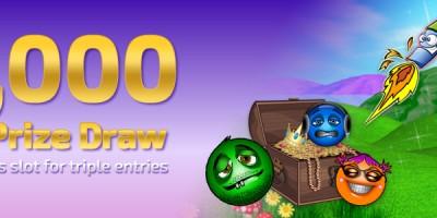 Enter Weekly £1,000 Prize Draws at Winner Bingo