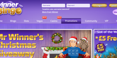 Enjoy The Final Days of Winner Bingo Christmas Bonus Bonanza