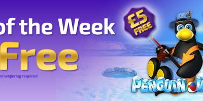 Earn a £5 Bonus Playing Penguin Vacation at Winner Bingo