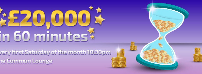 Start 2016 by Playing for £20K in One Hour at Winner Bingo