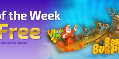 Play Santa Surprise Slot for a £5 Bonus at Winner Bingo
