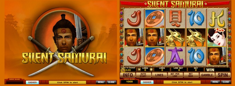 Become a Warrior in Silent Samurai Slot at Winner Casino