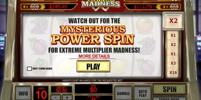 Play for Huge Wins in Multiplier Madness Slot at Winner Casino
