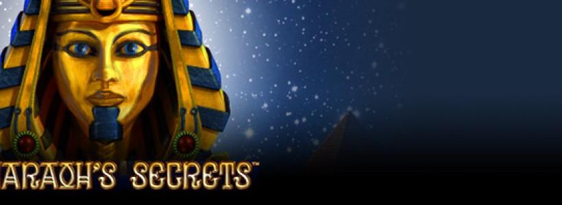 Try The New Pharaoh's Secrets Slot at Winner Casino