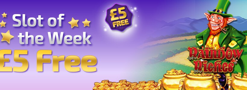 Winner Bingo Offers Rainbow Riches Bonus Cash