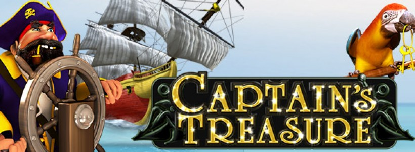 Take to the Seas in Captain's Treasure Pro Slot at Winner Casino