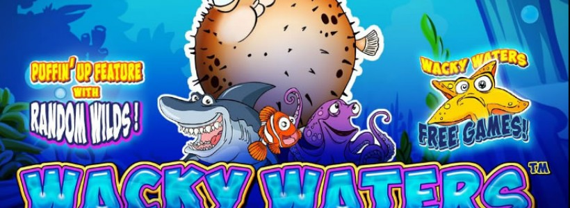 Meet the Craziest Fish with Wacky Waters Slot at Winner Casino