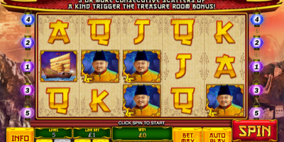 Head to China in The Great Ming Empire Slot at Winner Casino