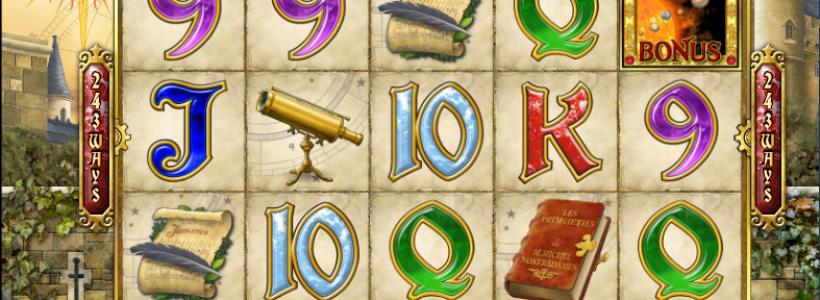 Find Your Future Winnings Playing Nostradamus Prophecy Slot at Winner Casino