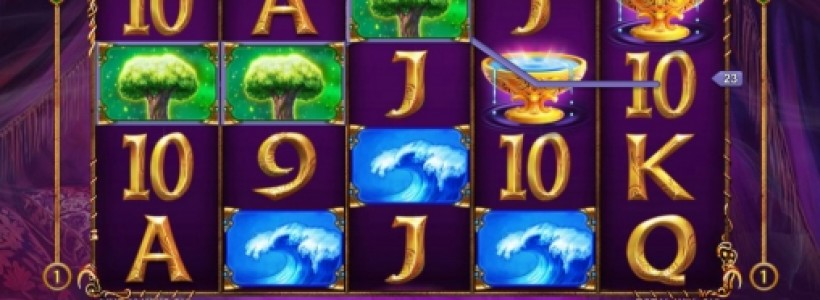 Meet the Mysterious Ruler in Queen of Wands Slot at Winner Casino
