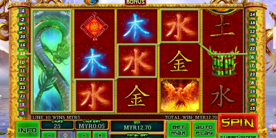 Enter the World of the Dragon in Fei Long Zai Tian Slot at Winner Casino