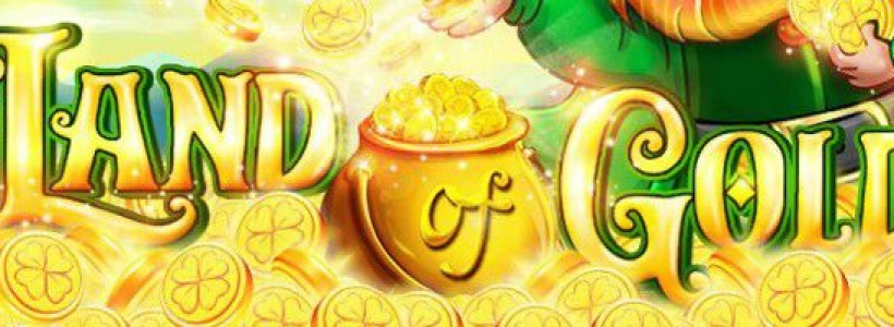 Play for a Progressive Jackpot in Land of Gold Slot at Winner Casino